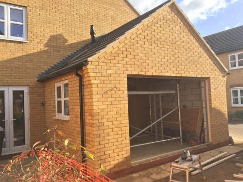 Single storey rear extension to create kitchen / dining room - Walton - Works in progress